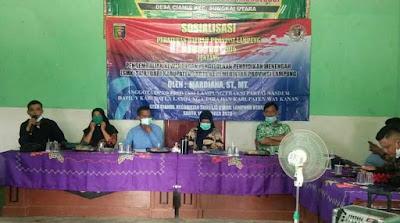 Mardiana Sosialisasikan Perda Provinsi Lampung Nomor 9 Tahun 2016