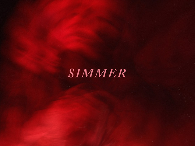 Capa de Simmer, Cover de Simmer, Single de Hayley Williams