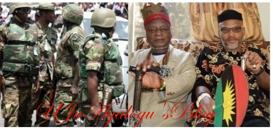 We need Nnamdi Kanu's father alive or dead - Igbo monarchs tell army Produce Nnamdi Kanu's father now - Igbo monarchs tell Army