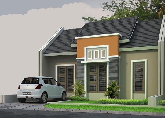 Contoh Desain Gambar Rumah Minimalis Type 36 |Terbaru