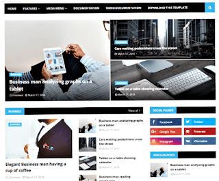 NewsOn blogger template, NewsOn blogger template download