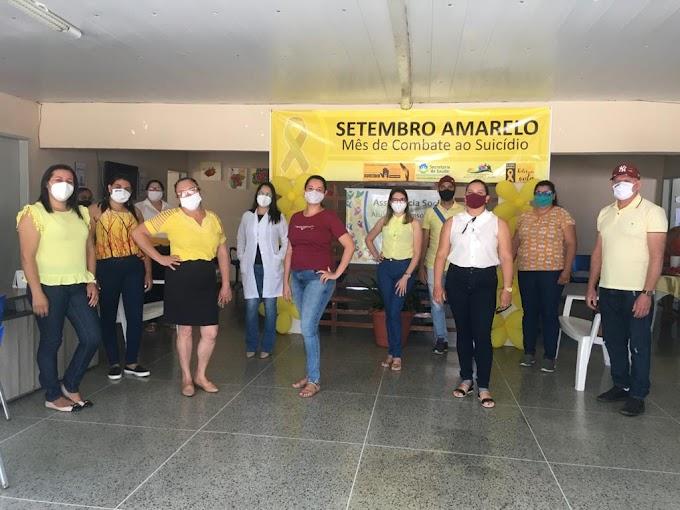 Secretarias de Saúde e Assistência Social de Amparo realizaram Palestras alusivas ao Setembro Amarelo