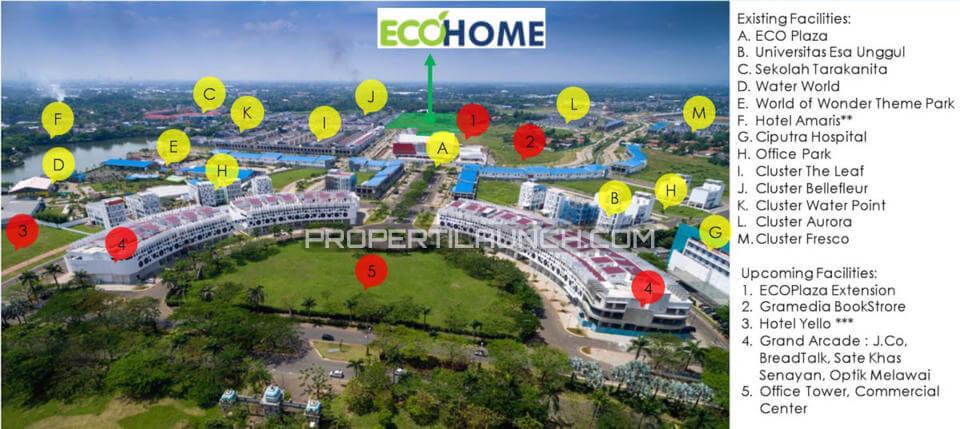 Fasilitas Sekitar EcoHome CitraRaya