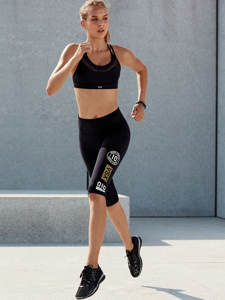 Josephine Skriver models new Victoria's Secret designs