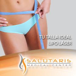 Paquete de lipolaser laser lipolisis lipoescultura en Salutaris Guadalajara Mexico