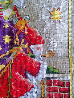 Mary Englebright Believe cross stitch: QuiltBee