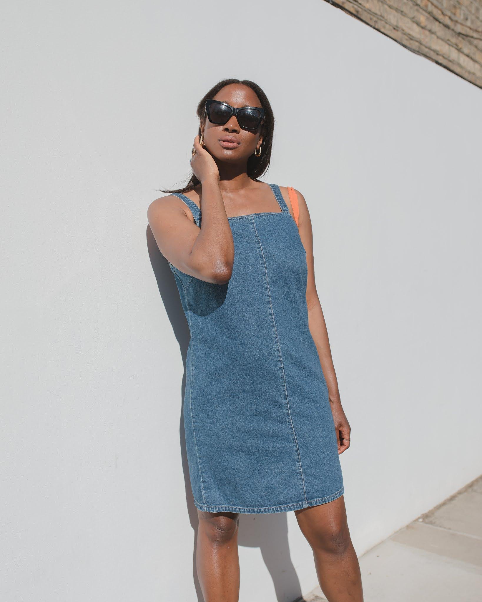 THE DENIM 70'S DRESS | SUMMER LOOK