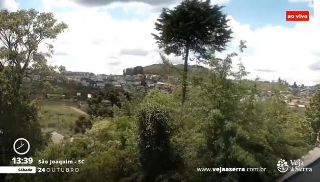 Câmera ao vivo de São Joaquim