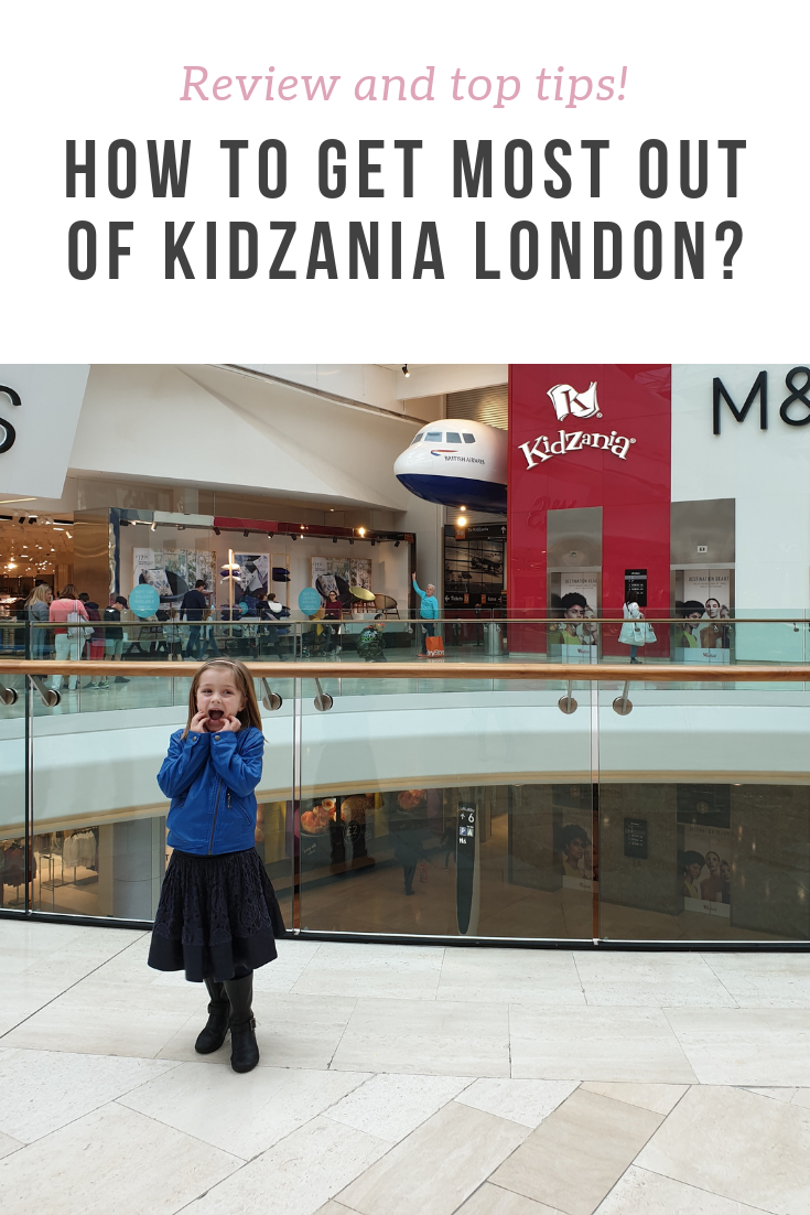 Our review and top tips for Kidzania London having been there with a 5 year old and a baby - accessibility, workshops, the full experience and all.
