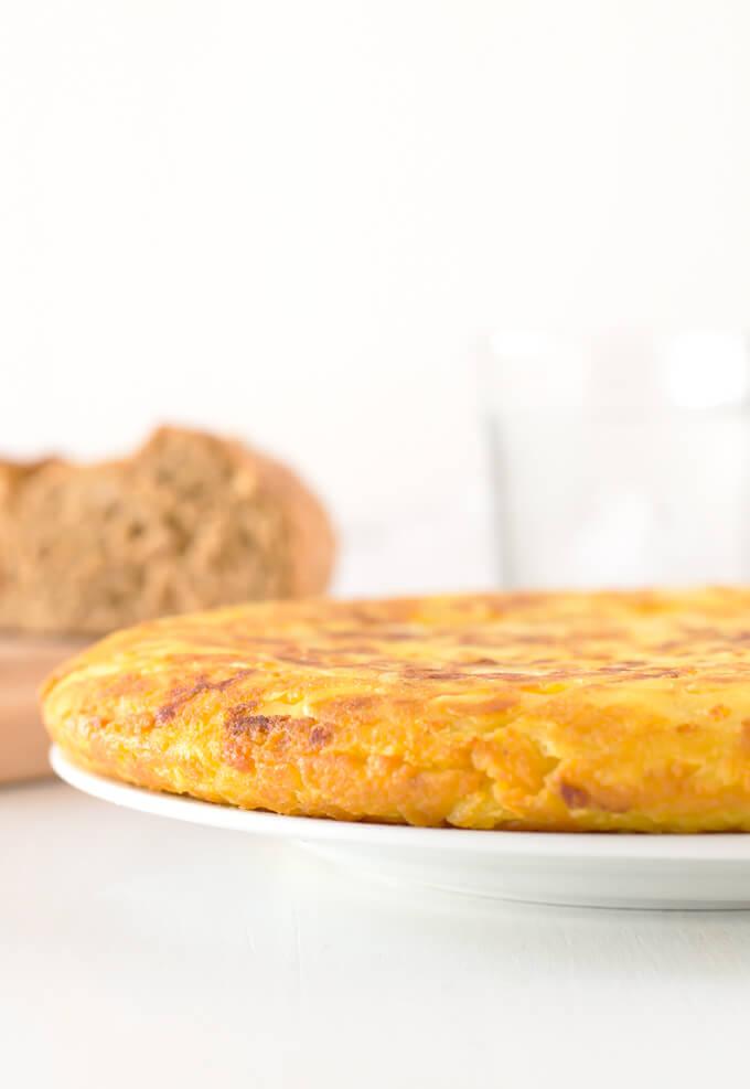 Vegan Potato Omelette | danceofstoves.com