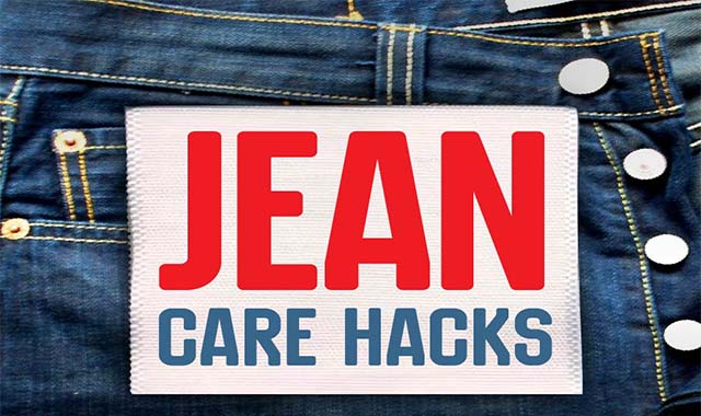 Jean Care Hacks A DIY Approach to Making Your Favorite Jeans Last