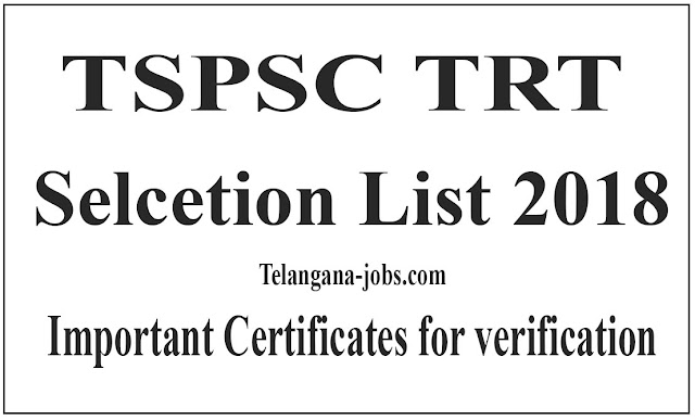 TRT SGt selection list 2018