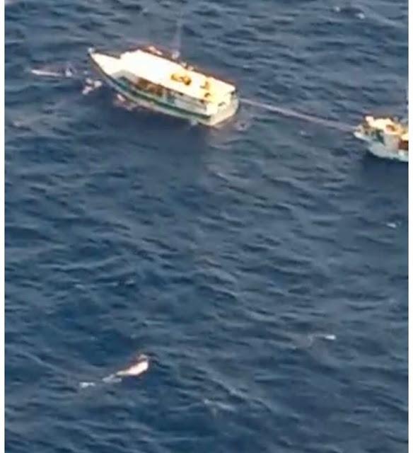 Amplio operativo en alta mar para buscar a tres pescadores progreseños