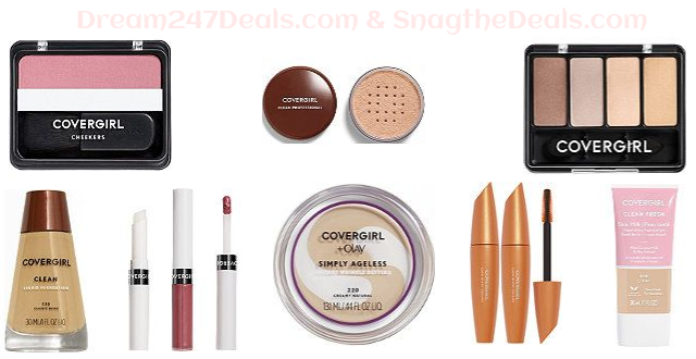 CoverGirl Makeup    Buy 2 Get 1 FREE