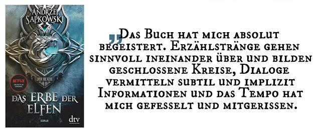 """Highlight April 2020: """"Der Hexer 1: Das Erbe der Elfen"""" von Andrzej Sapkowski"""