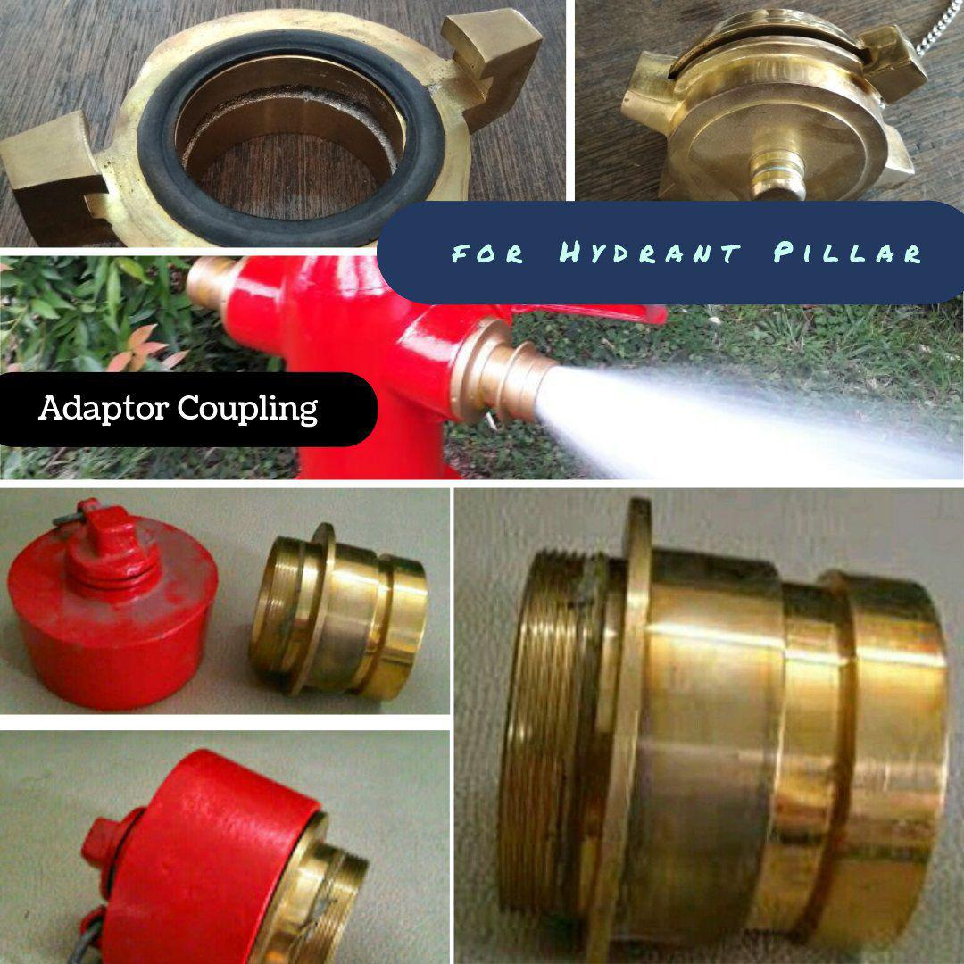 adaptor coupling machino dan van derheyde hydrant pillar