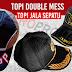 Buat Topi Promosi bahan Double mess / Jala Sepatu