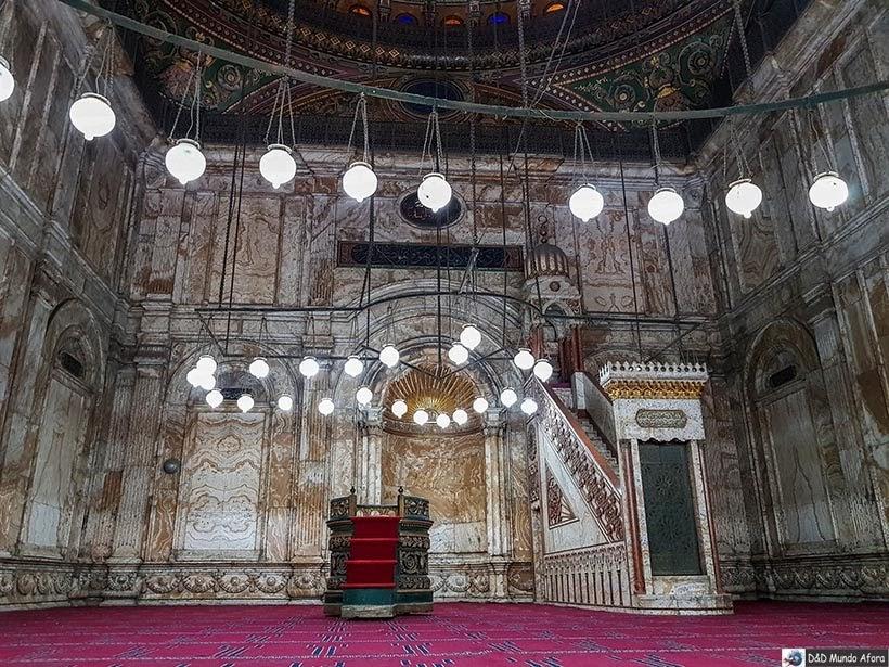 Mesquita de Mohamed Ali na Cidadela de Saladino