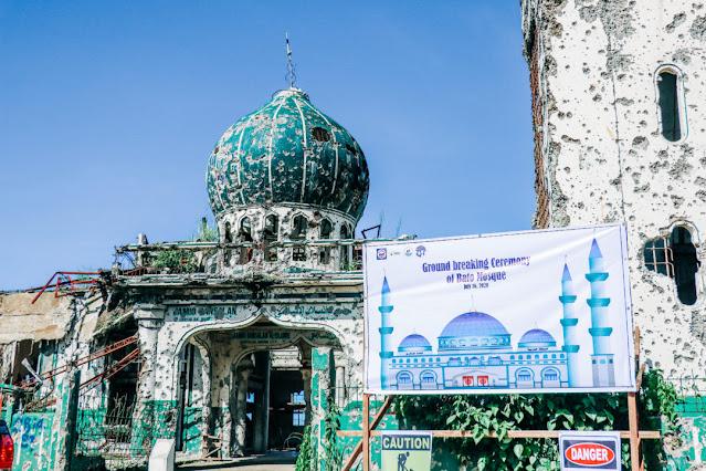 Filipina Mulai Bangun Kembali 31 Masjid setelah Tiga Tahun Pengepungan Marawi