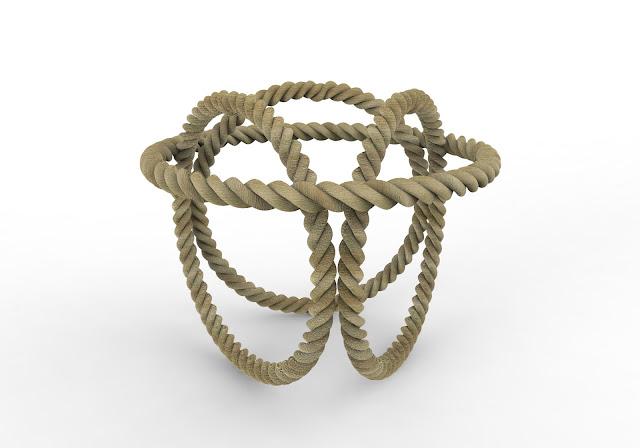 rope 3d model free download