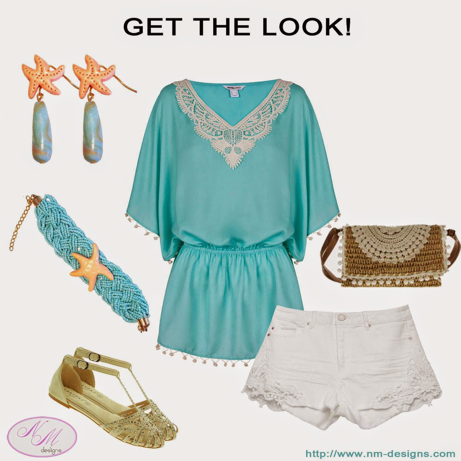 GET THE LOOK from July 30, 2014