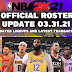 NBA 2K21 OFFICIAL ROSTER UPDATE 03.31.21 LATEST TRANSACTIONS+LINEUPS UPDATES