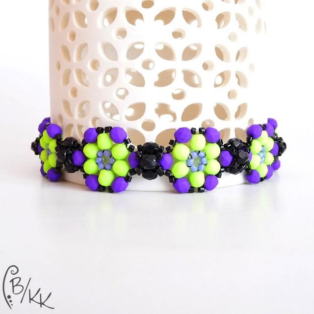 neonowa bransoletka fire polish | neon fire polish bracelet