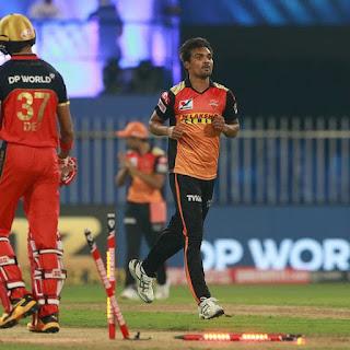 SRH vs RCB 52nd Match IPL 2020 Highlights