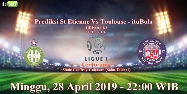 Prediksi St Etienne Vs Toulouse - ituBola