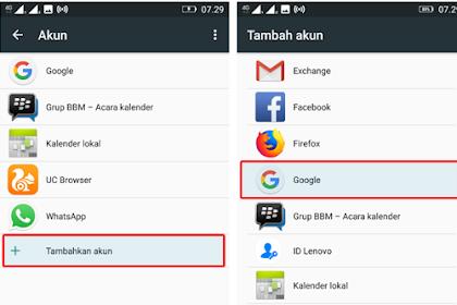 Cara Tambah 2 Akun Google di Android Tehnisikecil.com