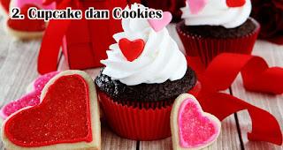 Cupcake dan Cookies merupakan salah satu ide usaha yang laku keras menjelang valentine