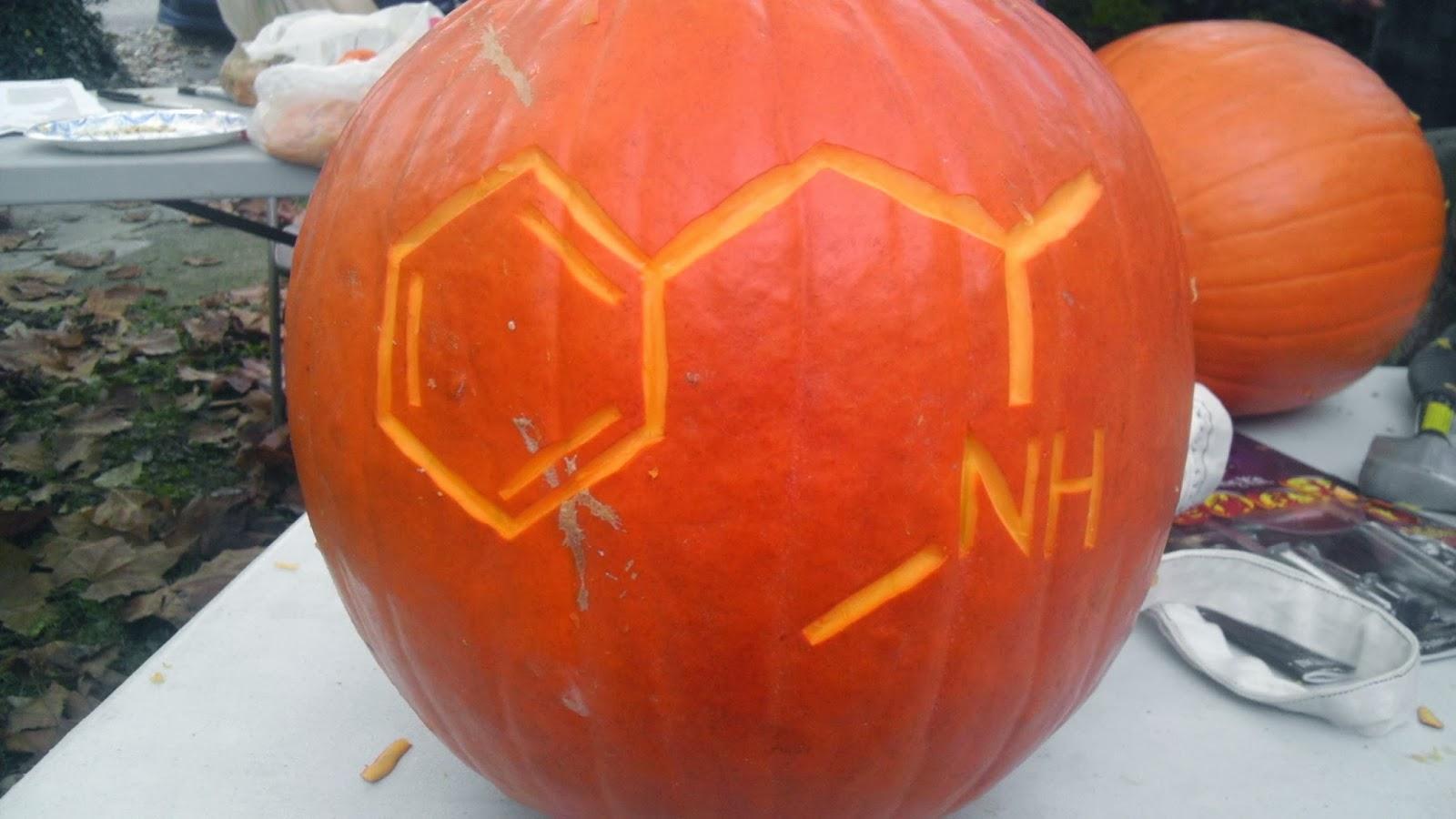 Mad Scientists Pumpkin Carving