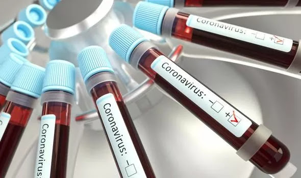 COVID-19 blood samples in a new study in China. PHOTO | CNN