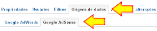 Integrar Google Adsense ao Google Analytics