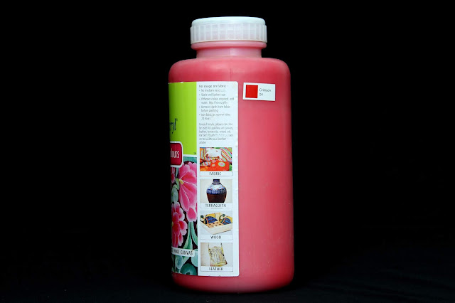 Pidilite Fevicryl Acrylic Colour Crimson 04 1 litre