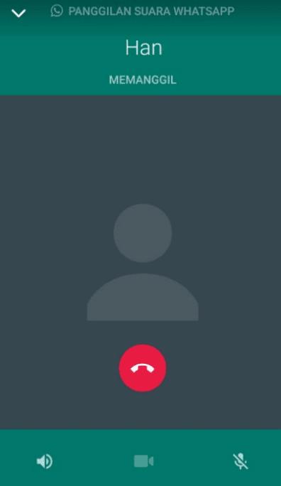 Panggilan kontak