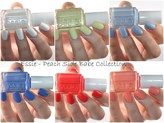Essie Summer 2015 Peach Side Babe Collection Swatches & Review