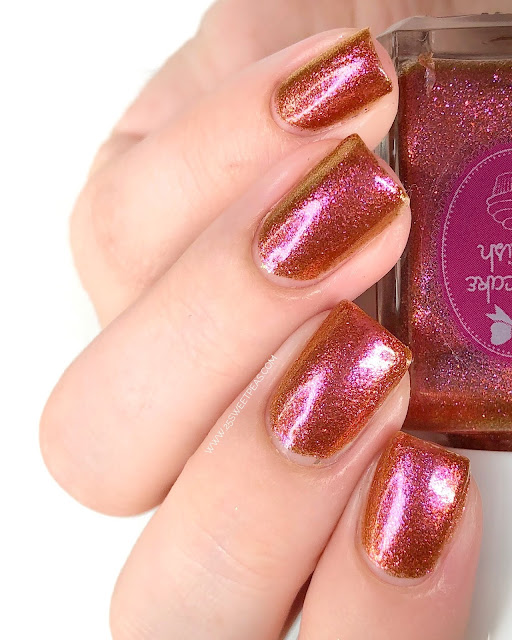 Cupcake Polish Heart of Iceland 25 Sweetpeas