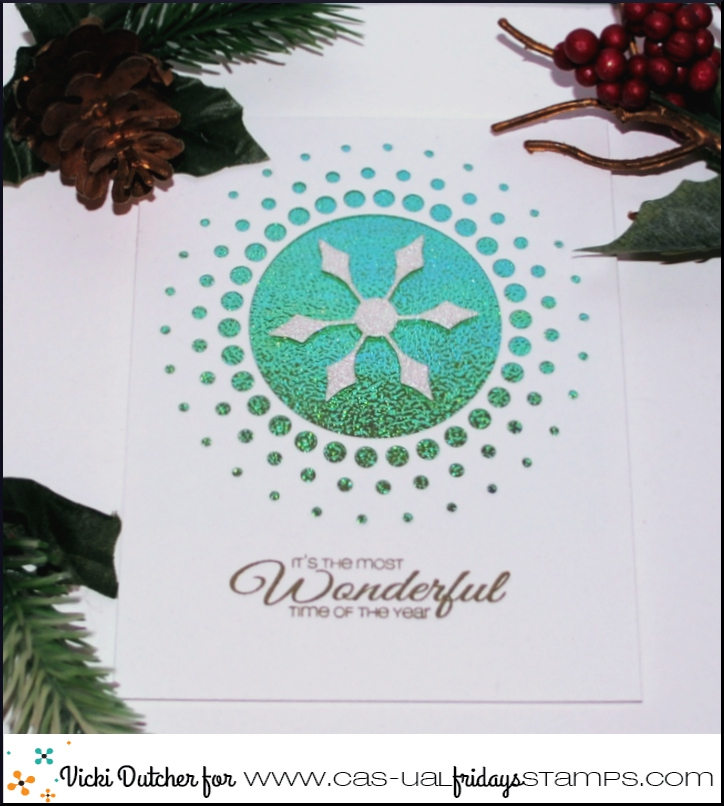CAS-ual Fridays Stamps: A Virtual Christmas Card