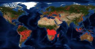 Otras zonas del planeta que arden en silencio mientras el mundo mira al Amazonas.
