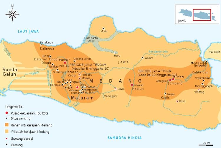 Letak Kerajaan Mataram