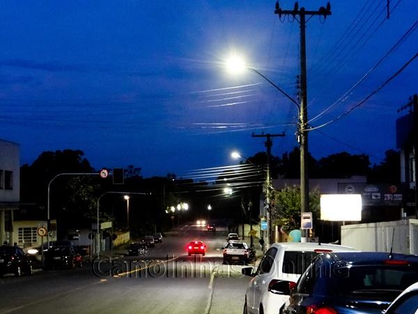 Cobrança de iluminação pública de Canoinhas