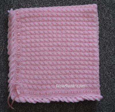 Free Crochet Baby Blanket pattern EASY