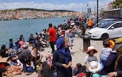 Μυτιλήνη: Αυξημένες οι ροές μεταναστών