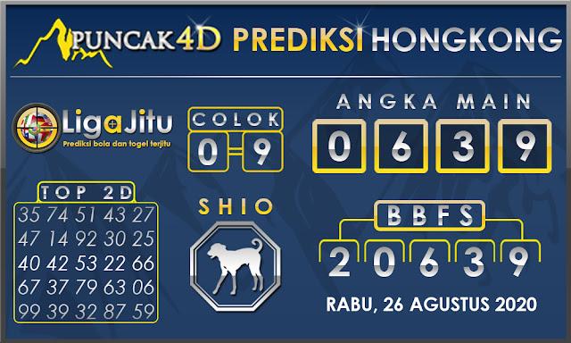 PREDIKSI TOGEL HONGKONG PUNCAK4D 26 AGUSTUS 2020