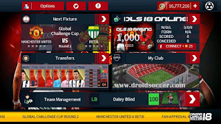 DLS 2018 Mod Manchester United by Tomsakda Apk + Data Obb