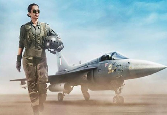 Tejas first look: Kangana Ranaut appeared as an Airforce pilot, Tejas first look comes out front