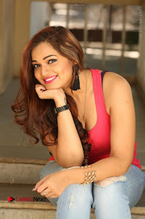 Tollywood Actress Ashwini Latest Stills in Ripped Jeans  0167.JPG