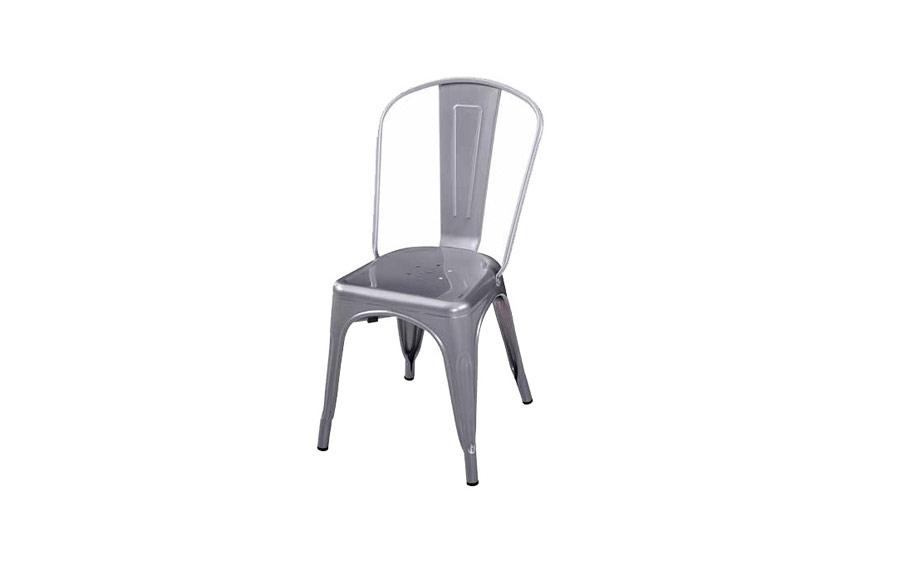Réplica silla Tolix Metálica - Mobiliario Hostelería