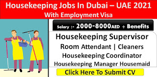 Housekeeping Supervisor and Coordinator Jobs Vacancy in MFive Services LLC Dubai, United Arab Emirates